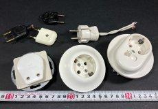"""画像4: 1950's """"GERMANY"""" Bakelite Outlet & Plugs (4)"""