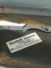 """画像9: 1950-60's Scotch """"DOUBLE"""" Cellophane Tape Dispenser (9)"""