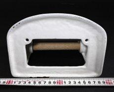 """画像10: 1920-30's German-Deco """"Cast-Iron"""" Toilet Paper Holder (10)"""