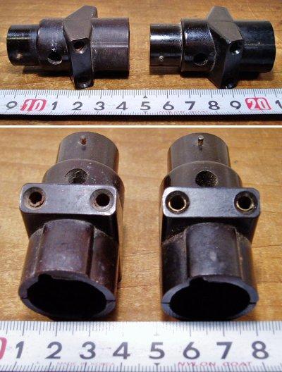 画像2: 【処分品】  2-sets French Electric Bakelite Socket Splitter