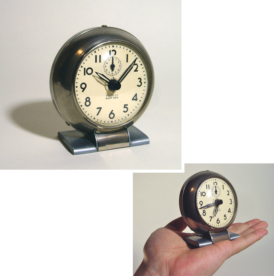 "画像1: 1930's Art-Deco ""BABY BEN"" mini Desk Clock (1)"