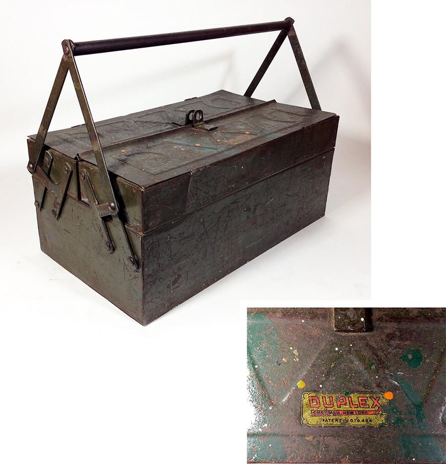 "画像1: 1930-early 40's ""DUPLEX"" Tool Box (1)"