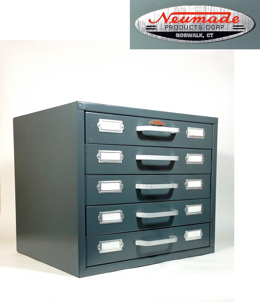 """画像1: 1960-70's """"Neumade"""" 5-Drawer Cabinet【特大】 (1)"""