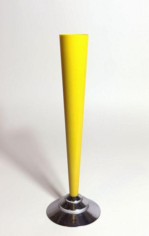"""画像1: 1930's """"The Dura Co."""" Bud Vase【YELLOW】 (1)"""