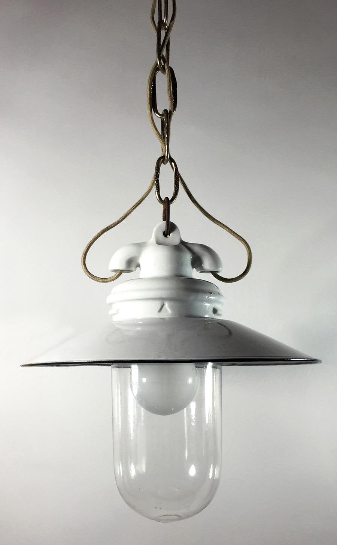 画像1: 1930's German Deco Pendant Light (1)