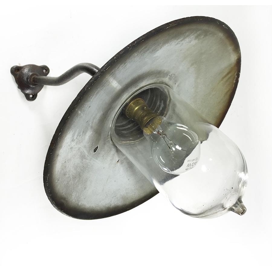 """画像1: 1910-30's French Country """"Swan Neck"""" Outside Light (1)"""