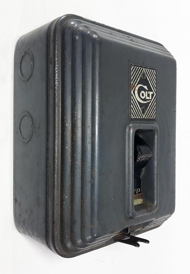"""画像1: 【ちょ〜特大 !! 】 1930's """"COLT"""" Wall Mount Switch Box (1)"""