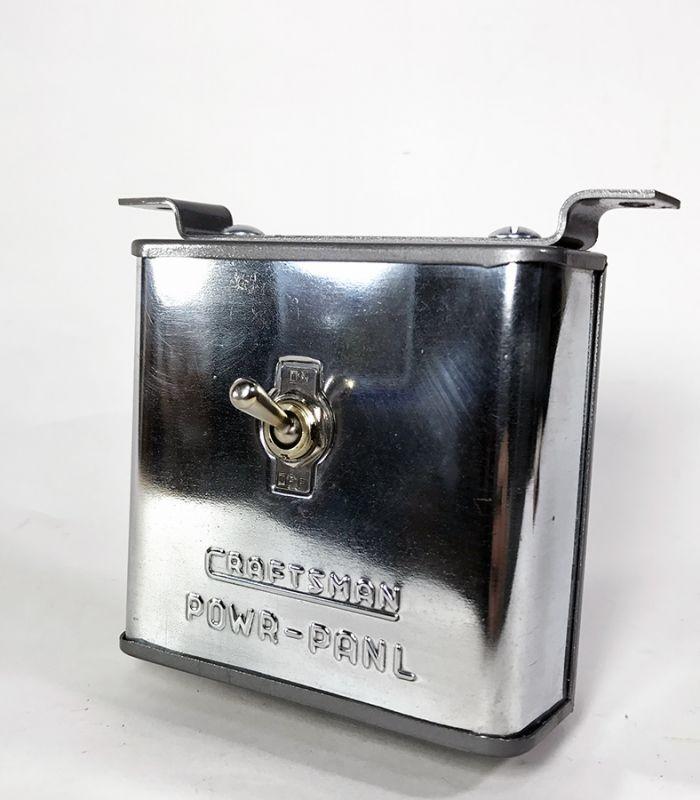 """画像1: 1940's """"POWR-PANL"""" Toggle switch Box (1)"""