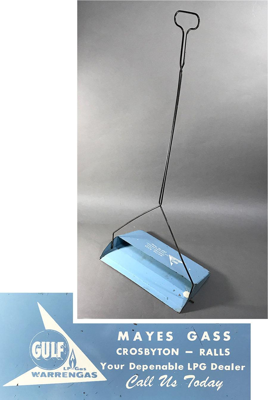 画像1: 1950-60's【GULF】Advertising Dust Pan (1)