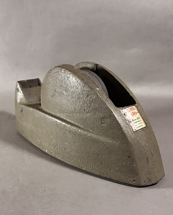 """画像1: 1940's """"STREAMLINE"""" Iron Tape Dispenser (1)"""