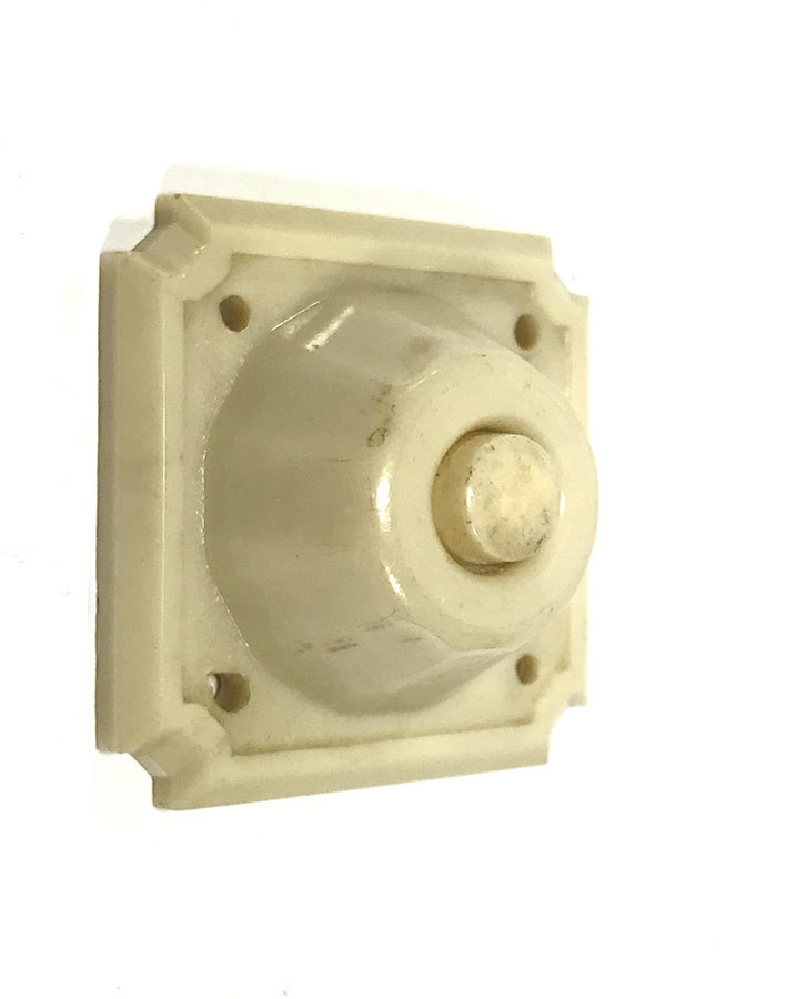 画像1: 1930-40's Art-Deco Bakelite Bell Switch (1)