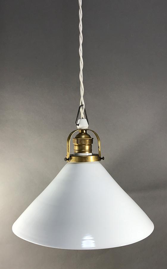 German deco milk glass pendant lamp funny supply 1 german deco milk glass pendant lamp mozeypictures Choice Image