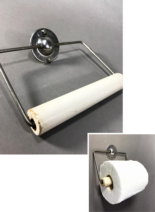 """画像1: 1940-50's """"Solid Steel Paper Holder (1)"""
