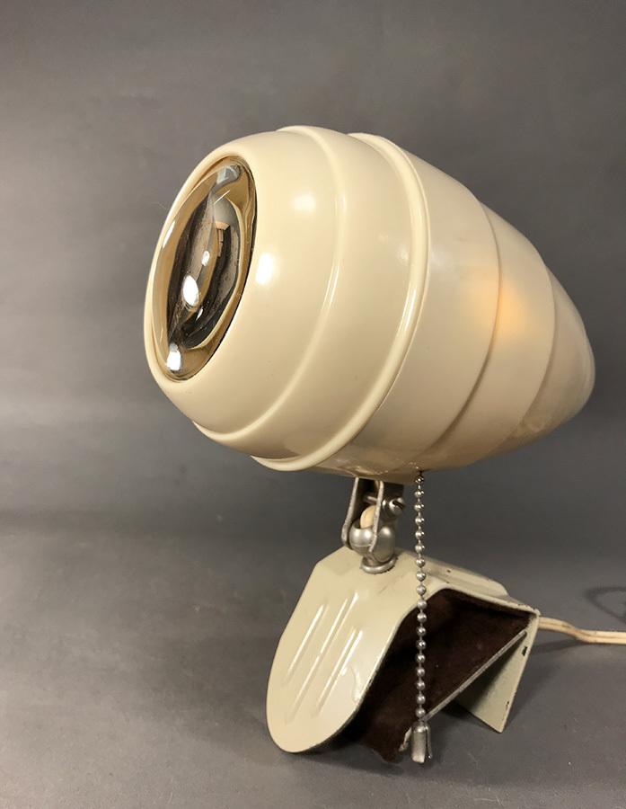 """画像1: 1940-50's """"Art Deco"""" Reading Lamp (1)"""
