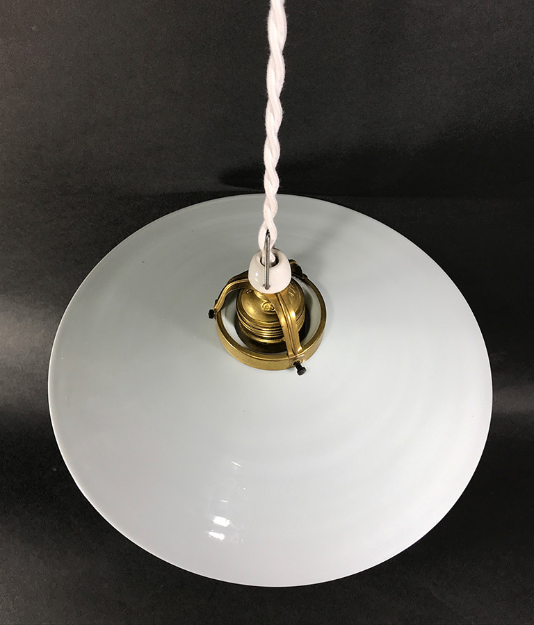 German deco milk glass pendant lamp funny supply 2 german deco milk glass pendant lamp mozeypictures Gallery