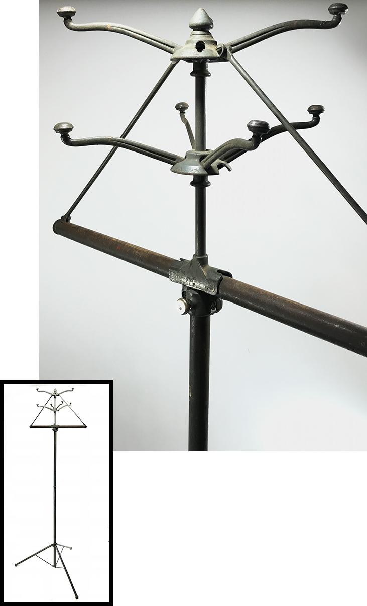 画像1: 1930's【UTILATREE】Folding Coat&Hat Rack (1)