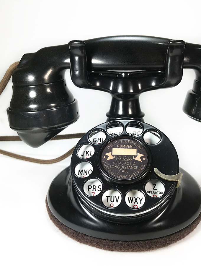 "画像1: - 実働品 -  ""Fully Restored"" 1920's 【Western Electric】Telephone with Ringer Box (1)"