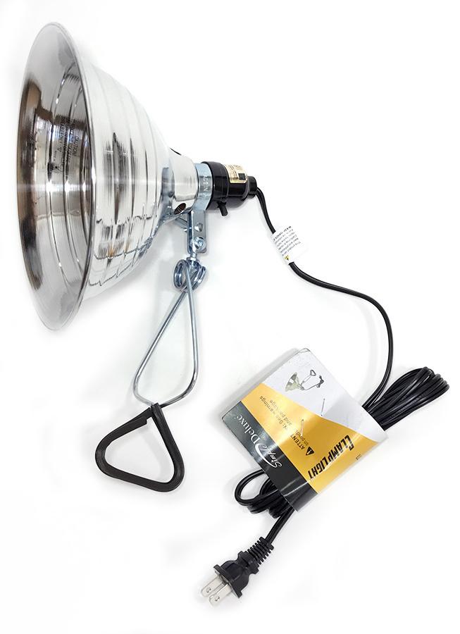"""画像1: 【NEW】  Aluminum Clamp Light """"up to 150 Watt"""" (1)"""