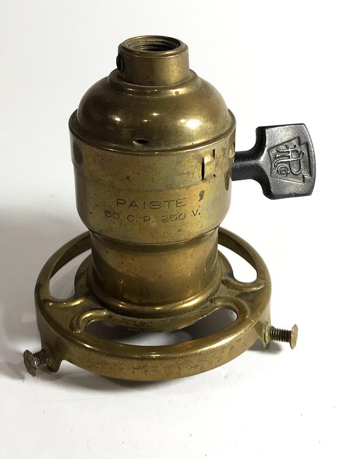 画像1: 1920's【PAISTE】  Paddle Switch Sockets w/ Shade Fitter (1)