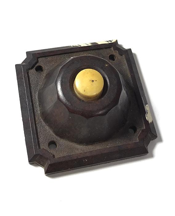 画像1: 1930-40's Art-Deco Bakelite Bell Switch (1)