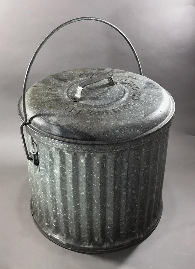 画像1: 1900's【WITT CORNICE CO.】Garbage Can  (1)