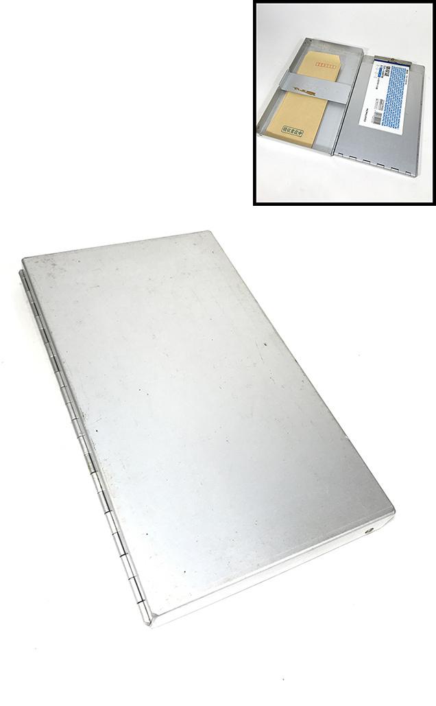 """画像1: 1960-70's Vintage """"PORTABLE"""" Aluminum Organizer (1)"""