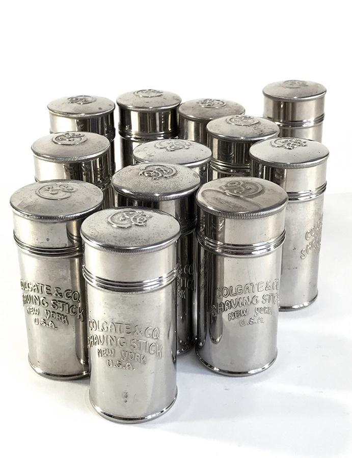 画像1: -*残り1個*-  1900-10's Mini Tin Case 【Colgate & Co. Shaving Stick New York】 (1)