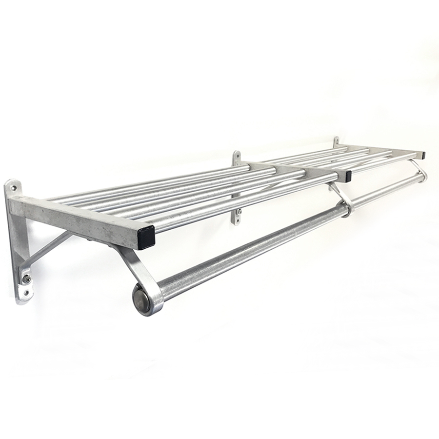 "画像1: 特大  1960-70's ""Brushed-Aluminum"" Clothes Rack 【幅:1230mm】 (1)"