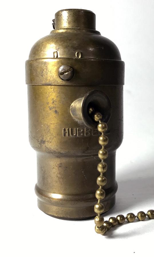 画像1: Early-1900's【HUBBELL】Lamp Socket (1)