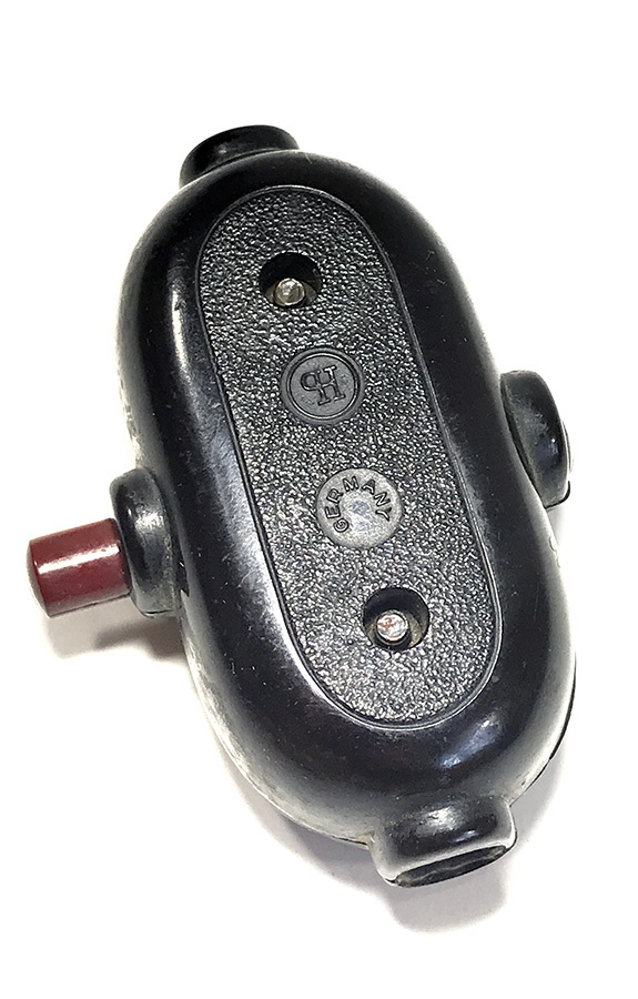 """画像1: 1930-40's """"GERMANY"""" Black Bakelite Switch  (1)"""