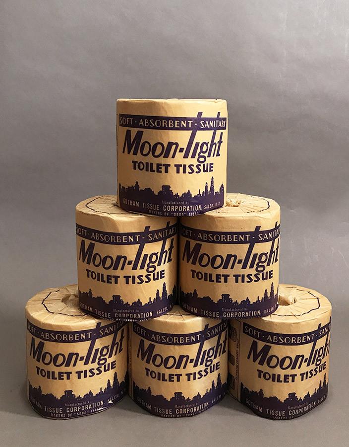 """画像1: Early-1930's Art Deco """"Moon-Light"""" Toilet Paper (1)"""
