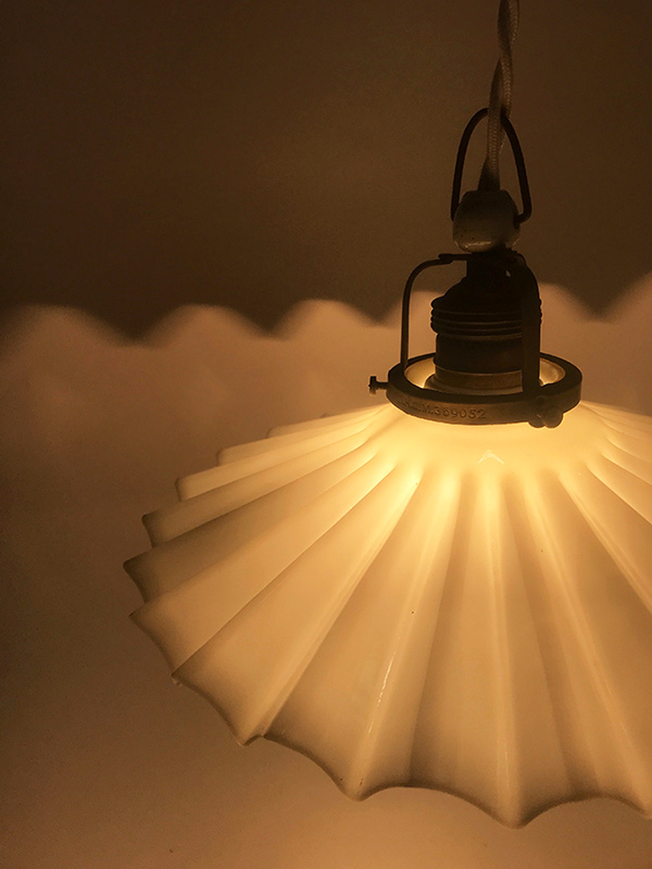 "画像1: German-Deco ""Petticoat"" Pendant Lamp (1)"