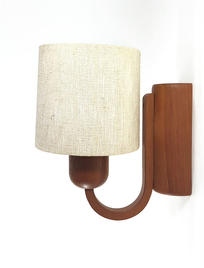 "画像1: 1960-70's  ""Domus"" German Wood Sconce (1)"
