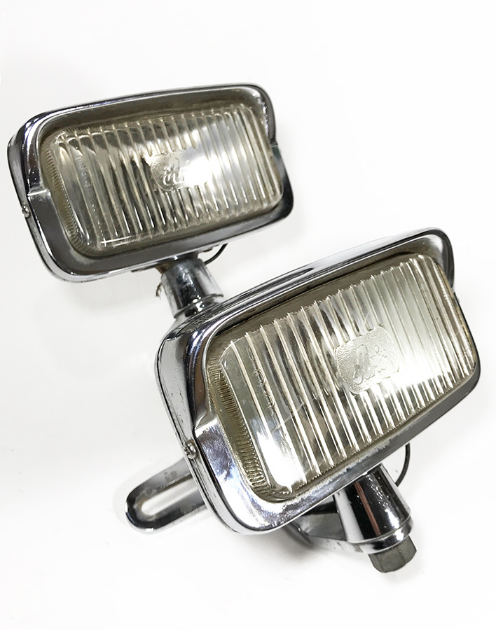 "画像1: 1960-70's Aris ""Dual"" Chopper Head Lights (1)"