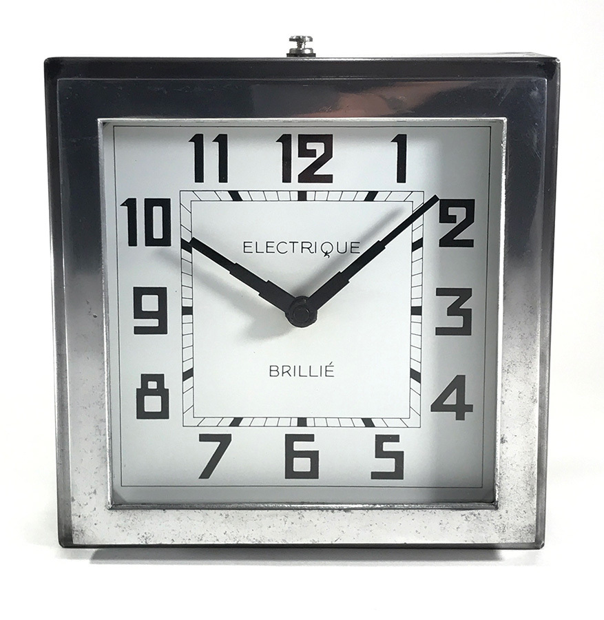 "画像1: 1940's French ""Art Déco"" Wall Clock (1)"