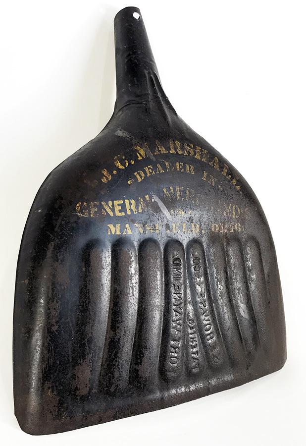 画像1: 1890-1900's 【S.F.BOWSER & CO.】Advertising Dust Pan (1)