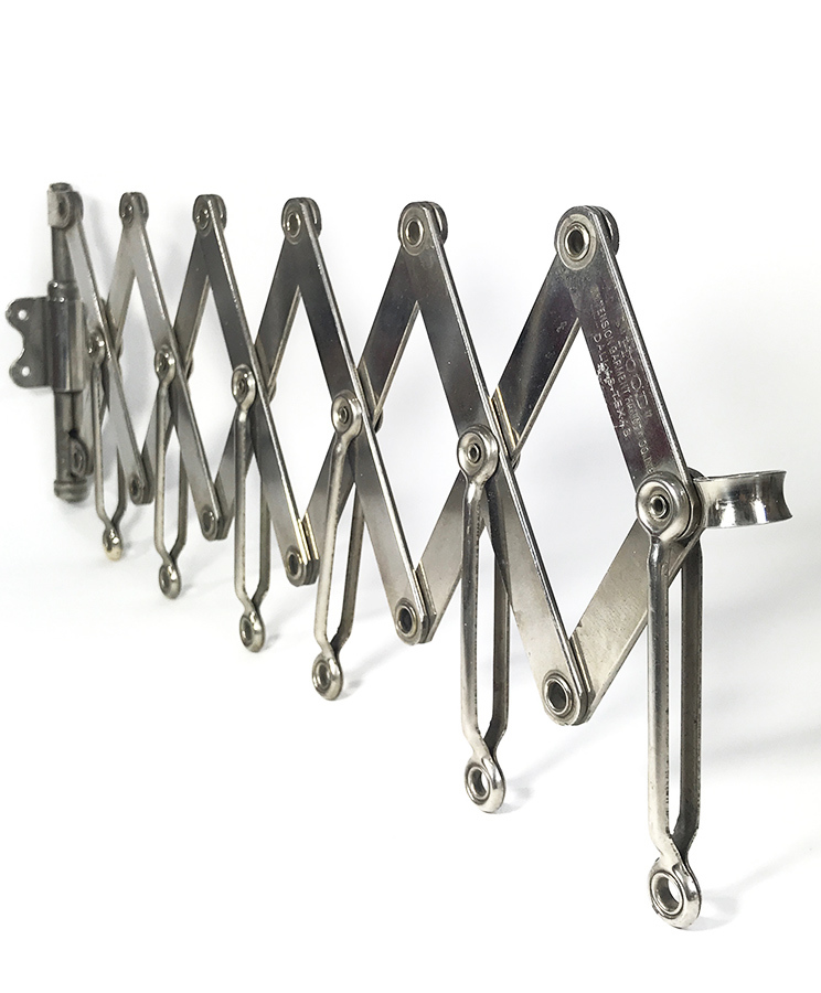 "画像1: 1920's ""EXTENSION"" Steel Garment Hanger Rack (1)"