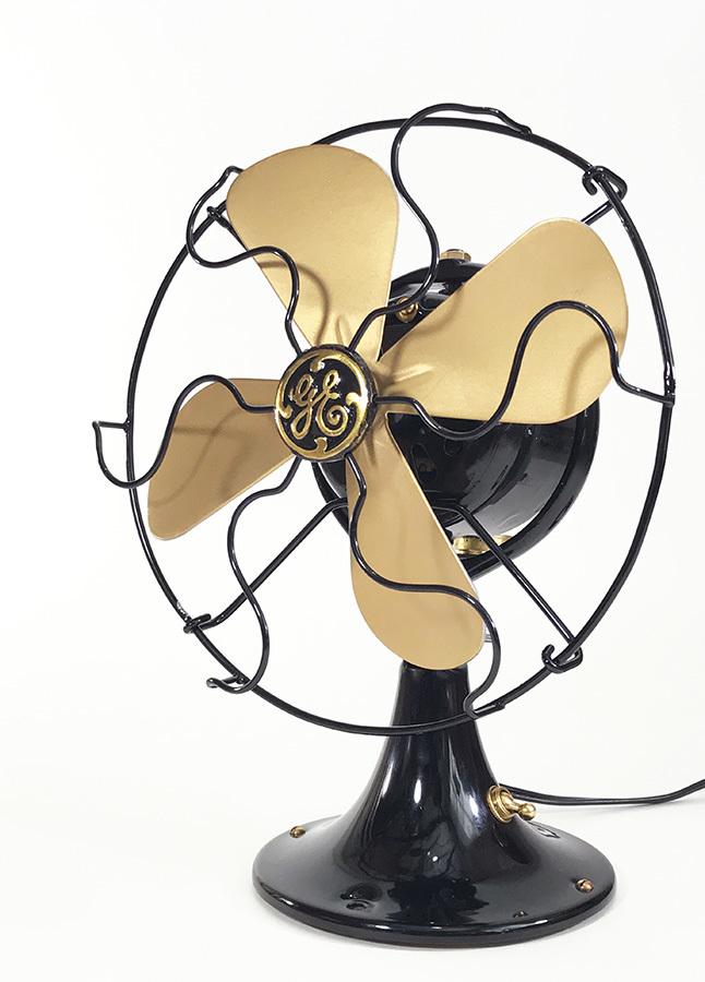 """画像1: """"Fully Restored""""  Early-1930's【General Electric】MINI Electric Fan (1)"""