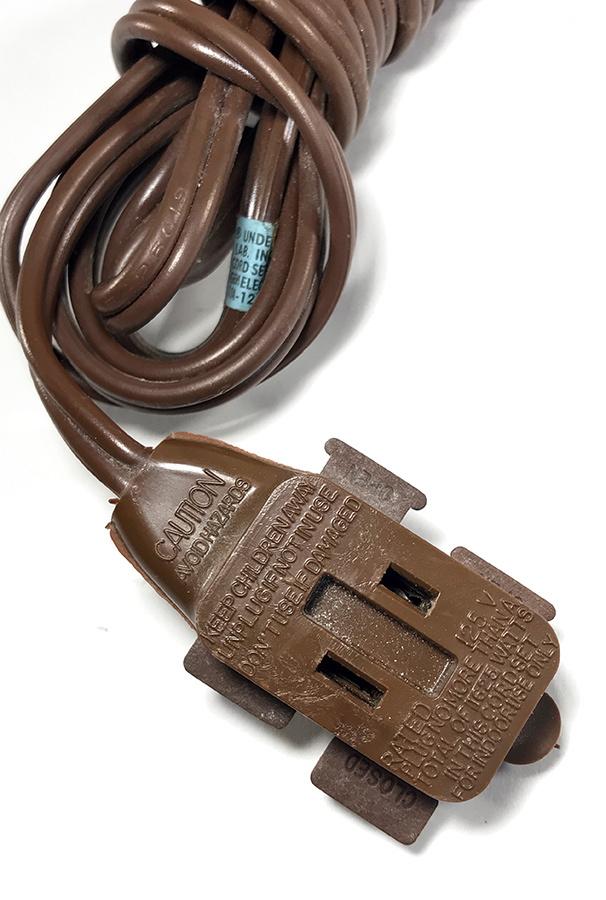 """画像1: 1950-60's """"Extension Cord"""" Bakelite 3-Outlet (1)"""