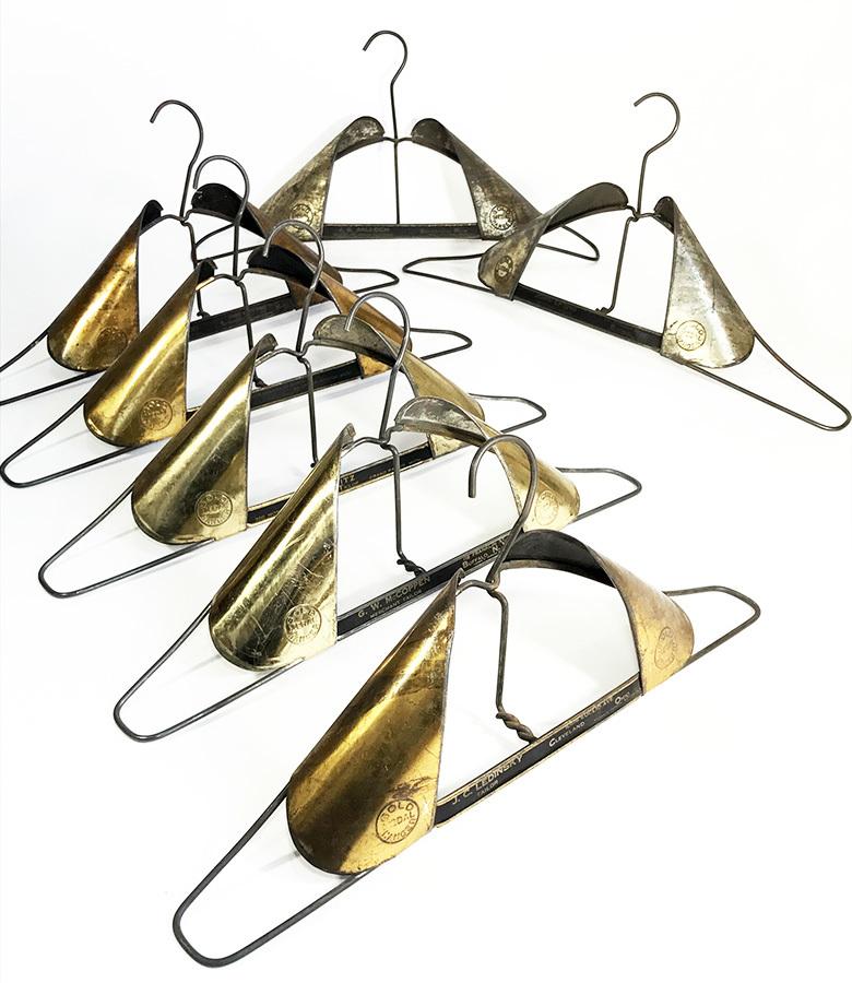 """画像1: 1900-20's  """"GOLD MEDAL"""" Advertising Hanger 【7本セット!!】 (1)"""