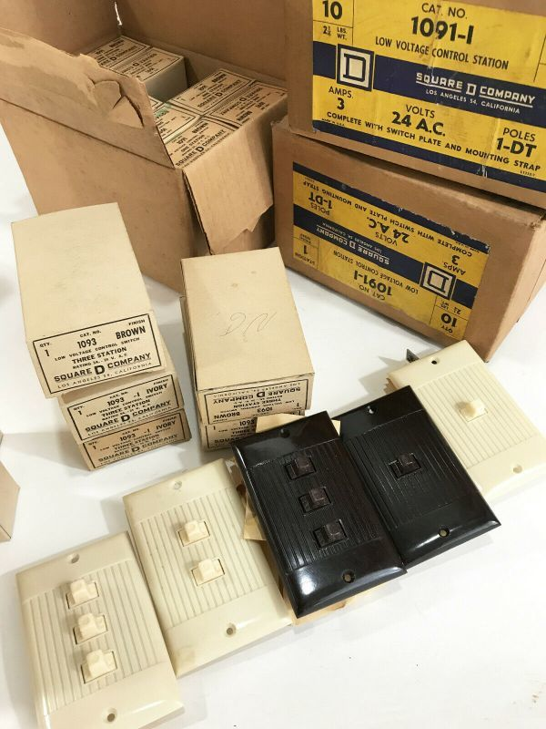 画像1: 【処分品】 1950-60's Vintage switch【LOT OF 46】 (1)