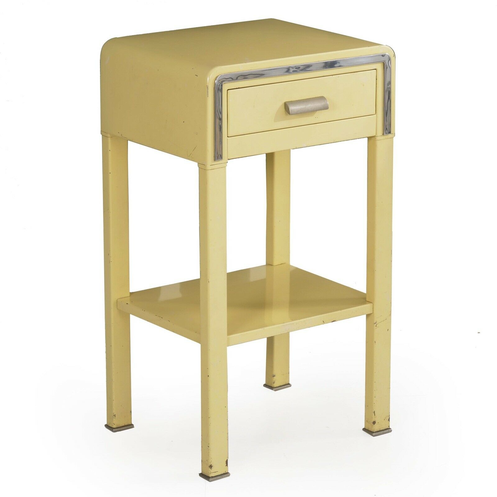 "画像1: 1930's【SIMMONS】""STREAMLINE"" Night Stand  Designed By NORMAN BEL GEDDES (1)"