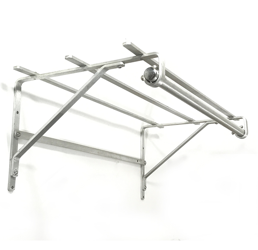画像1: 1940-50's Aluminum Clothes Rack (1)