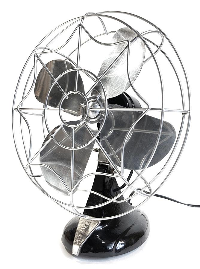 """画像1: """"Fully Restored""""  Early-1940's【ESKIMO】1-Speed Electric Fan (1)"""