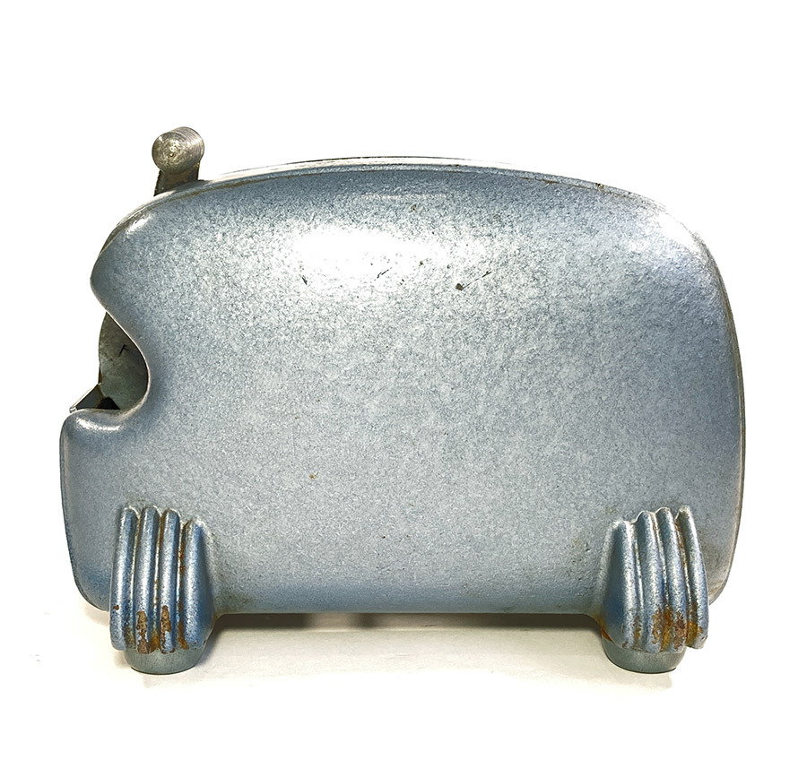 """画像1: 1940's Machine Age """"BIG-INCH"""" Iron Tape Dispenser (1)"""