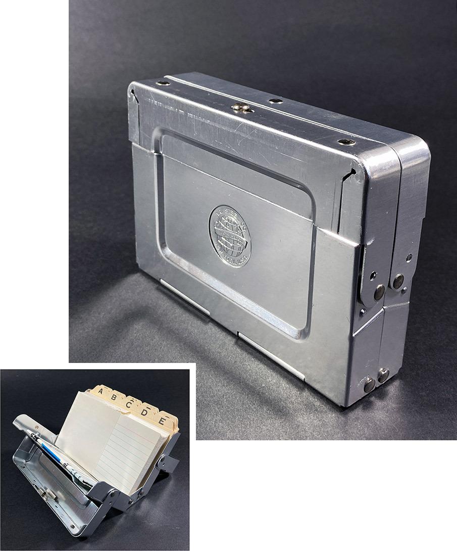 """画像1: -DEAD-STOCK-  1950-60's """"ASCO New York"""" Aluminum Box (1)"""