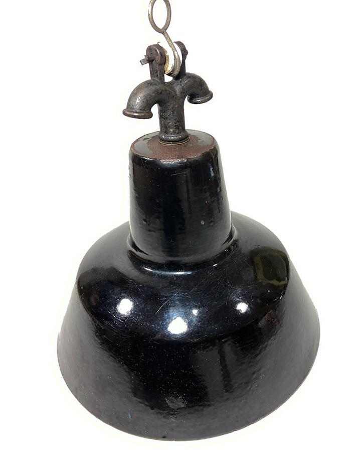 """画像1: German-Deco """"Black Enamel"""" Pendant Lamp (1)"""