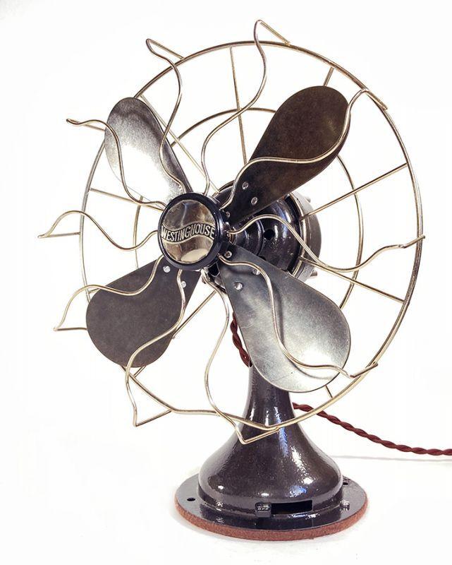 """画像1: Fully Restored  1930's ~WESTINGHOUSE~ """"Desk Fan"""" (1)"""