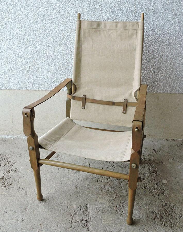 画像1: 1940-60's Germany  ★Safari Chair★ (1)