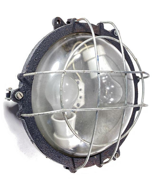 画像1: 1940-60's Germany Iron Wall Lamp (1)
